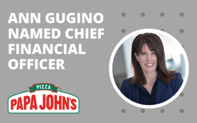 SUCCESSFUL PLACEMENT: PAPA JOHN'S – CHIEF FINANCIAL OFFICER