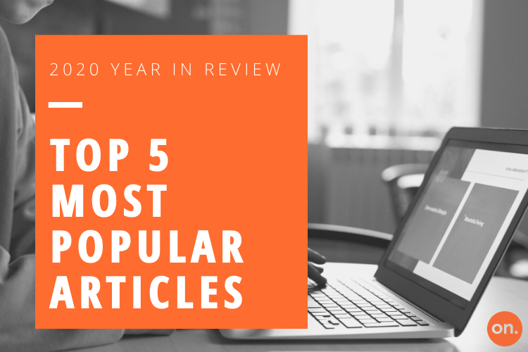 TOP 5 MOST POPULAR ARTICLES OF 2020 FROM ON PARTNERS